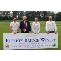 Rickety Bridge Winery Guernsey Sarnians CC