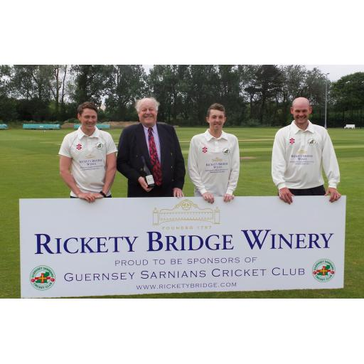 Rickety Bridge Guernsey Sarnians CC back in Sussex League Action